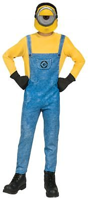 Kids Mel Minion Boys Costume Despicable Me 3 Minion cartoon movie fancy jumpsuit
