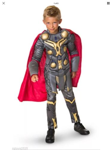 Marvel Avengers Thor Halloween Costume for Boys M 8 super hero Greek mythology