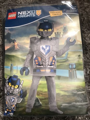 Morris Costumes Boys Lego Nexo Knights Clay Costumes Grey Blue Sz 10-12