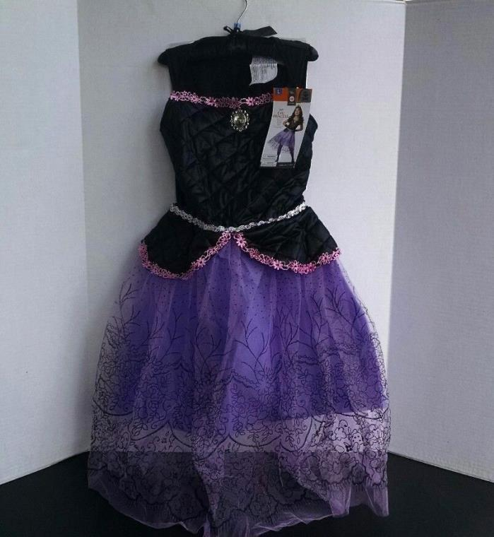 Girl's Princess Costume Large 10-12 Halloween Dress-Up Purple Dress Cuffs Tiara