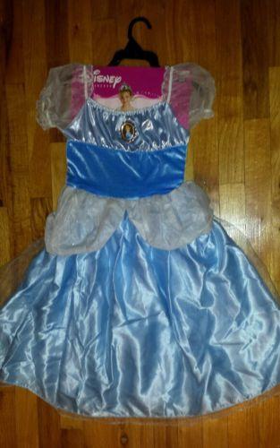 Disney Princess Cinderella Halloween Costume Kids 7-8