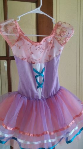 Curtain call dance costume ballet tutu new child medium