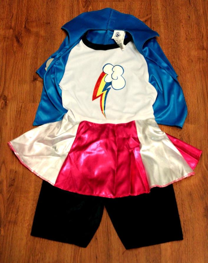 Rainbow Dash Equestria Deluxe Costume, Small 4-6x