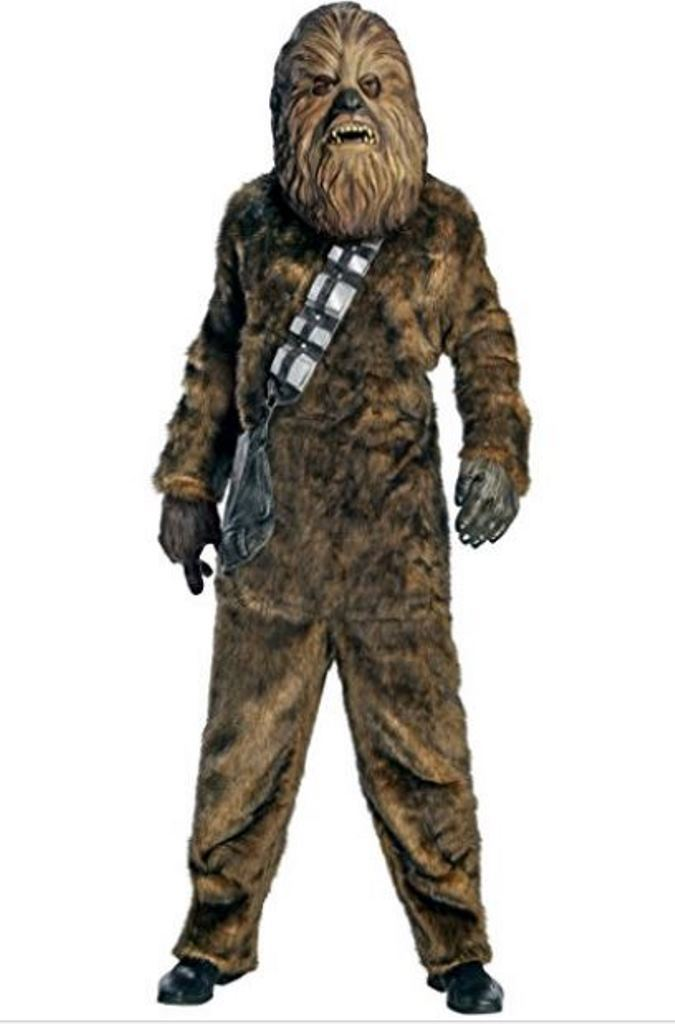 Deluxe Chewbacca Star Wars Adult Halloween Costume, X-Large
