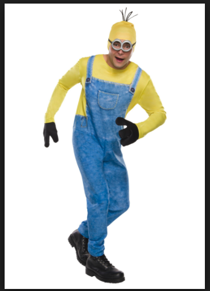 Minion Halloween Costume Kevin Cosplay Adult Size Medium Standard Minions Movie