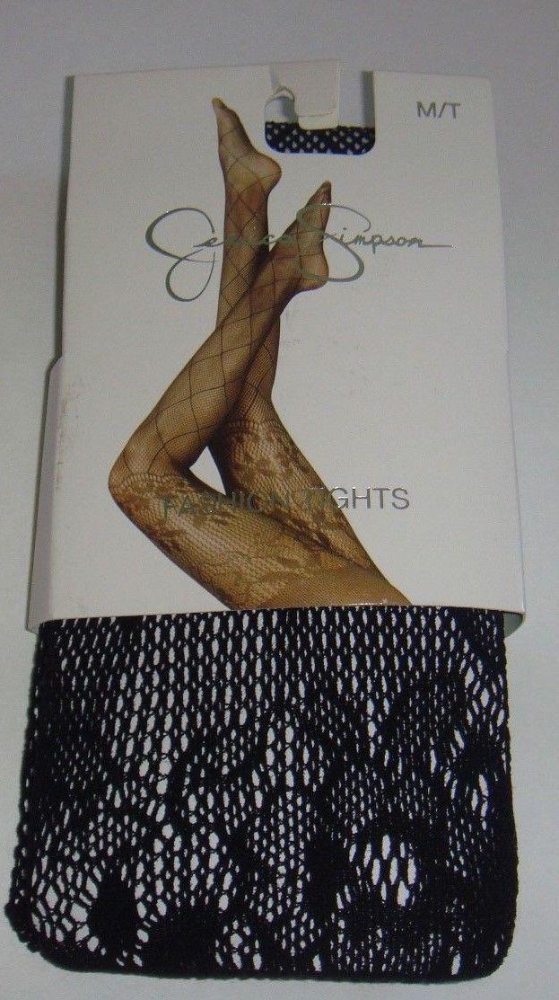 Jessica Simpson Fashion Tights Black Noir de jais M/T