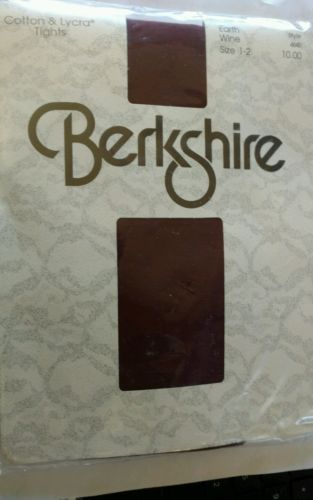Berkshire  TIGHTS  Sz 1-2  90-135# EARTH WINE style 4645 retail $10.99 sealed