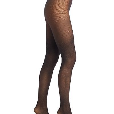 NEW WOLFORD WOMENS LUREX NET TIGHTS