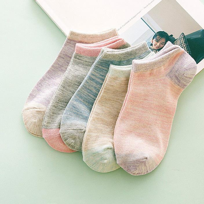 Spring Summer comfortable Invisible Korean Boat Socks