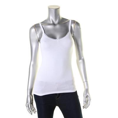 B.Tempt'd 9780 Womens White Modal Blend Bow Camisole Top S BHFO
