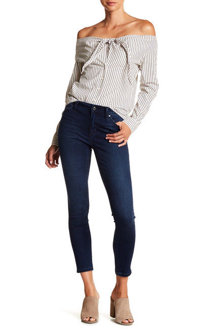 Joes Jeans Sz 24 Skinny Ankle Dark Wash