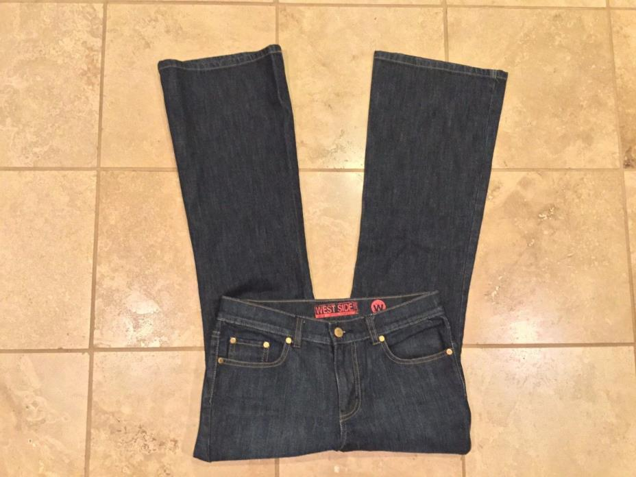 West Side jeans Flare, stretch Size 6 Petite