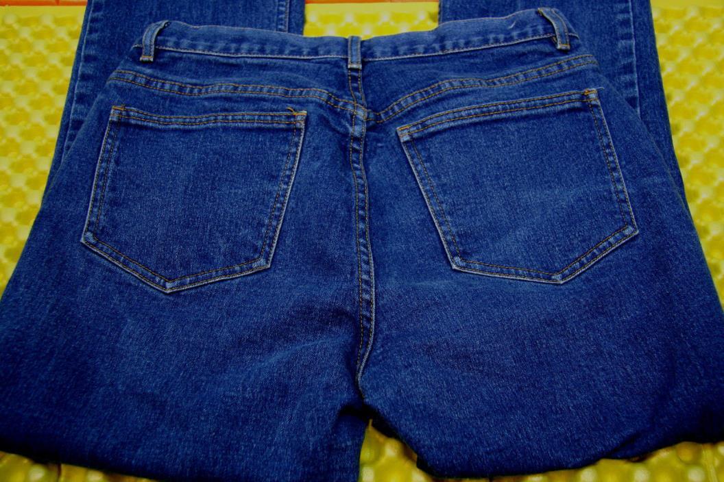 Classiques Entier Boot Cut Stretch Jeans Zip Up 28X 30 Womens Size 8