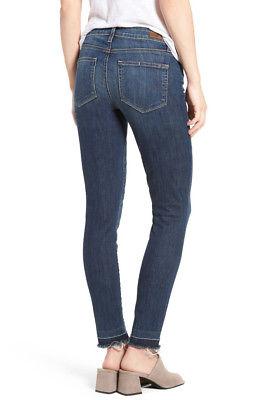 NWT PAIGE Jeans Legacy Verdugo Ankle Mid-Rise Ultra Skinny Size 29 Sandy/Raw Hem