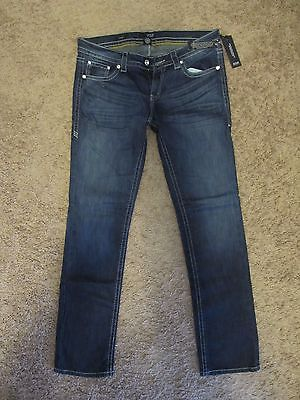a.n.a WOMENS JEANS BLING STRAIGHT LEG TRENDY SIZE 30/10 *NEW W/TAGS