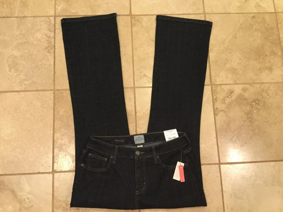 St.John's Bay jeans New with tags Classic fit, Boot cut, stretch Size 6P
