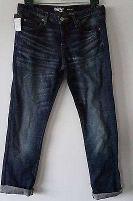 Mossimo Supply Misses Medium Wash Cropped Jeans Size 6R