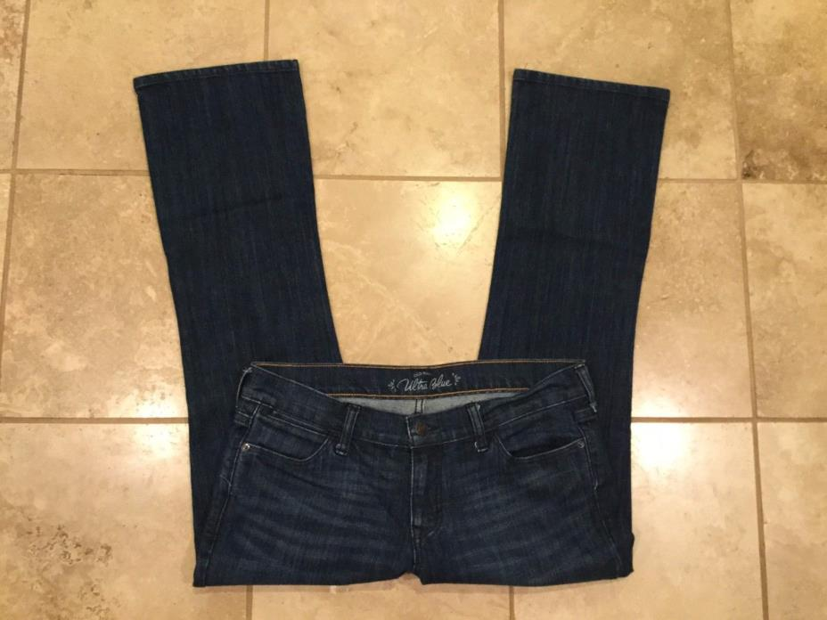 Old Navy jeans Ultra Blue Boot cut, stretch Size 10R