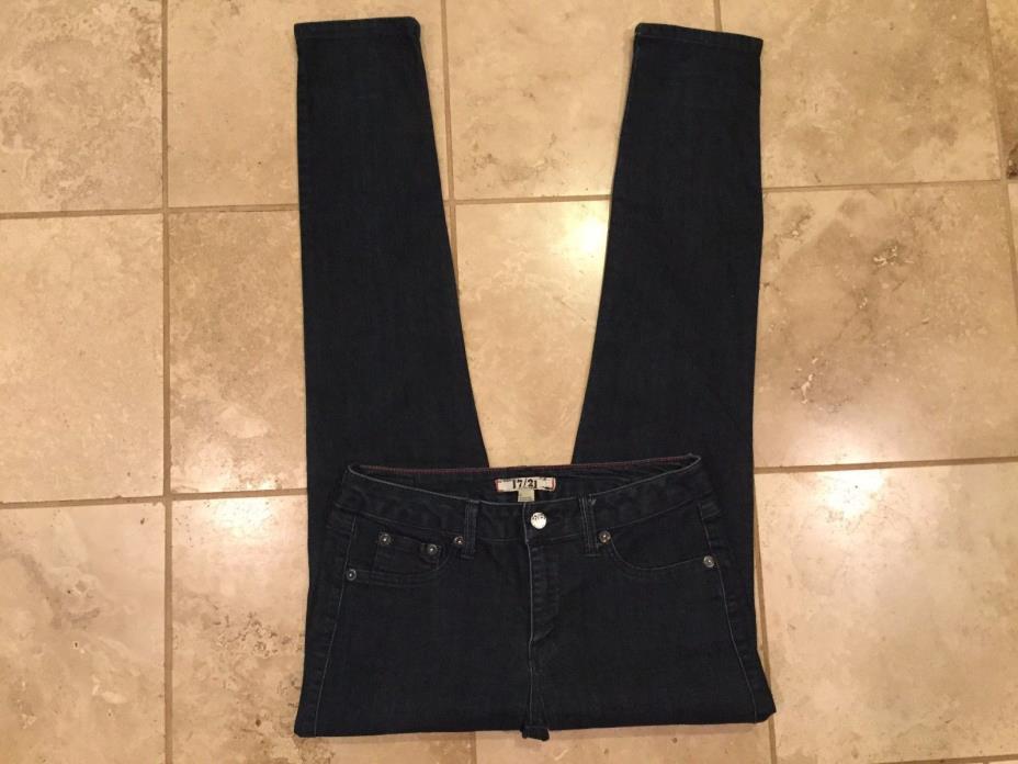 17/21 jeans Skinny, stretch Size 6