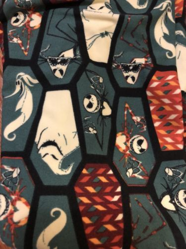 Lularoe Disney Nightmare Before Christmas TC Leggings Coffins Jack & more