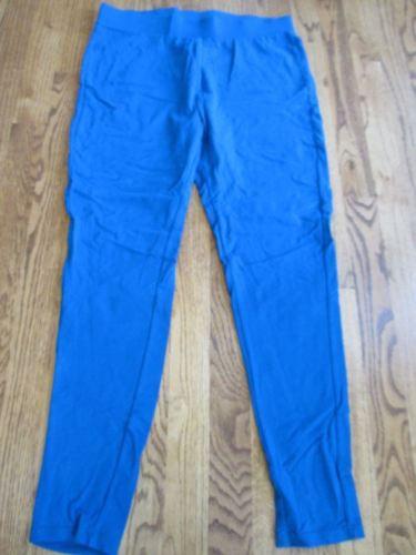 Wendy Williams Essential Knit Legging BLUE sz XL nwot
