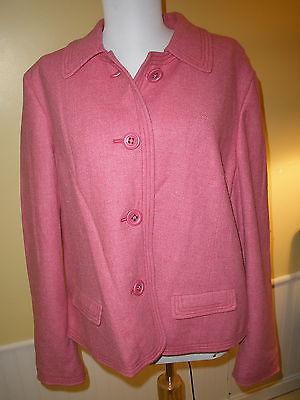 Gap Maternity jacket XL pink NICE 90% wool