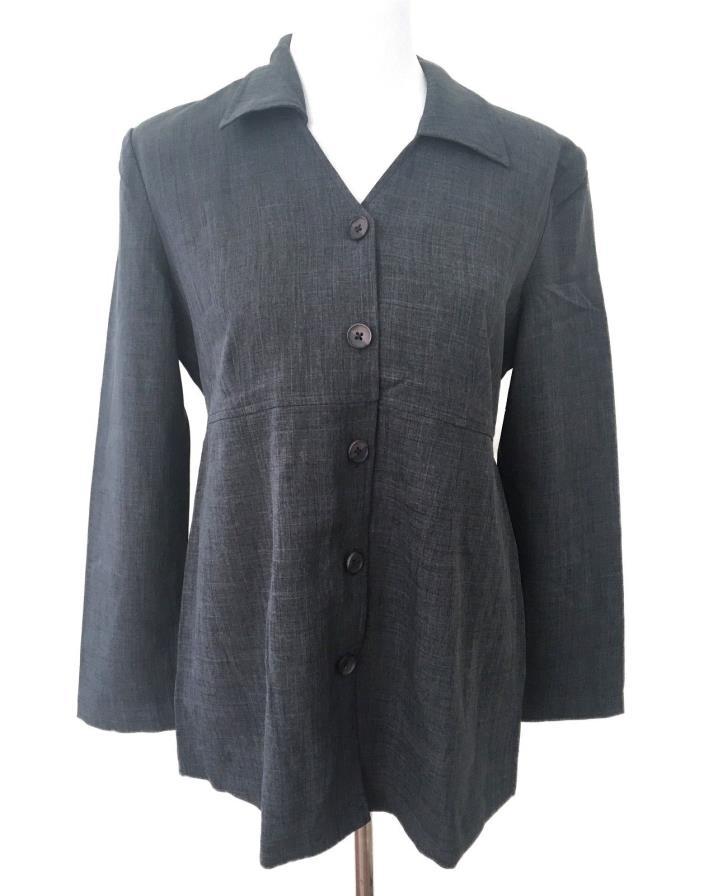 Motherhood Womens Maternity Coat Jacket Gray Casual or Career Size Small S