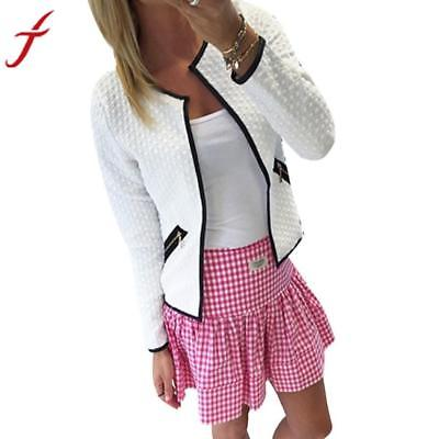 Fashion Winter Coat Women Warm Cotton-padded Women Long Sleeve Lattice Tartan Ca