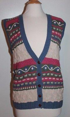 Koret Vest Size Medium Multi-color (O4-9)