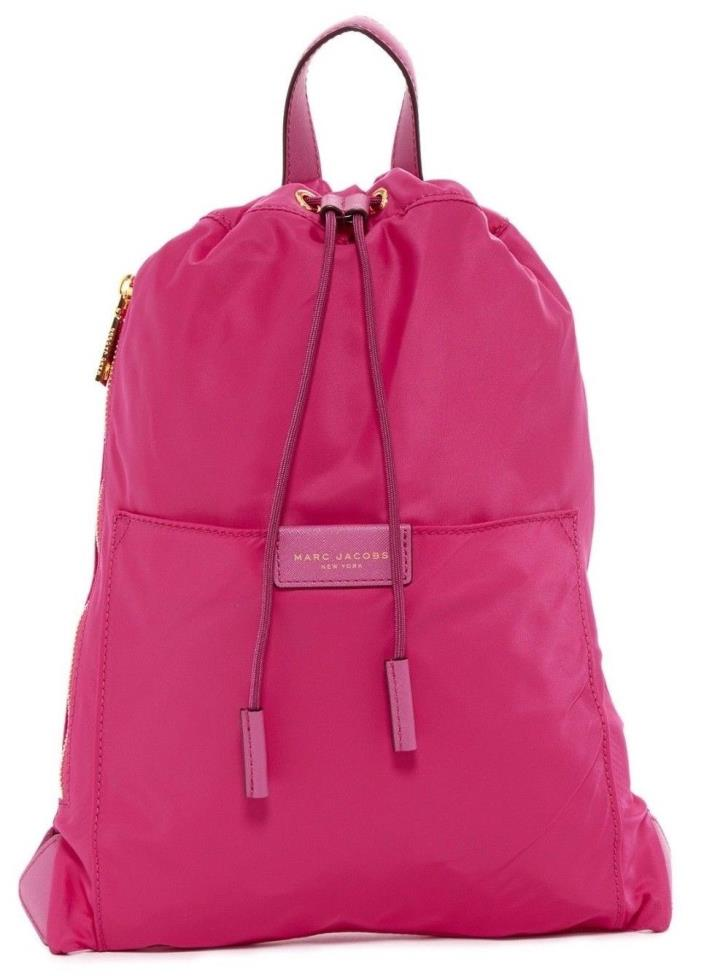 NWT Marc Jacobs Active Nylon Mini Backpack , MAGENTA # M0011991