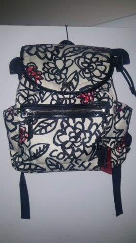 Coach Poppy Daisy Backpack floral