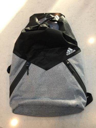 Adidas sports backpak, black, new with tags