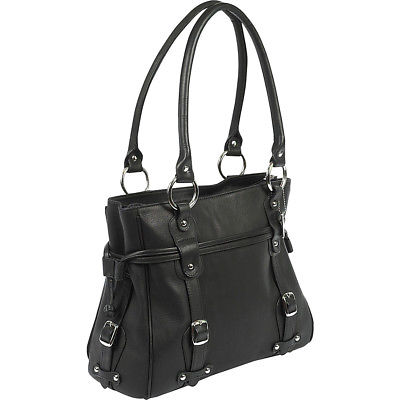 ClaireChase Valentina Work Tote - Black Women's Business Bag NEW