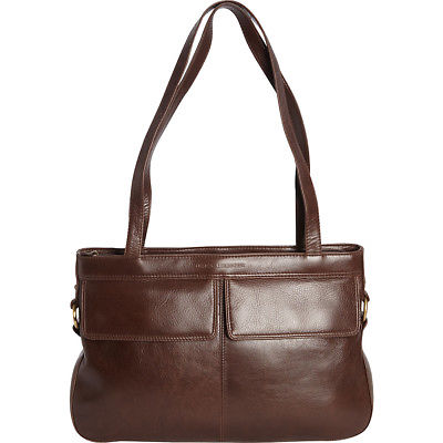 Derek Alexander Top Zip Tote With Double Front Pockets Women's Business Bag NEW