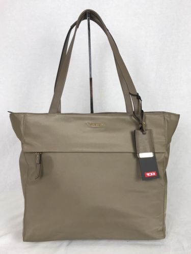 Tumi Voyageur Large M-Tote Laptop Carry-On Carry-All Bag Khaki $295