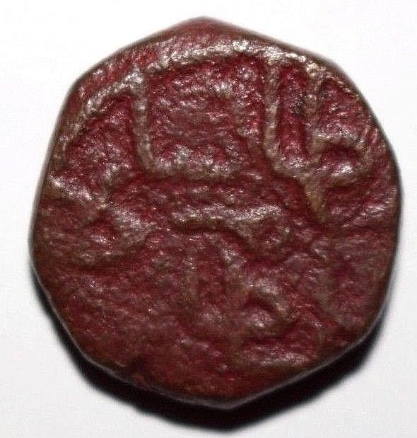 India Sammas of Sind Jam Feroz Shah f1. 1521 AE Tanka Goron 553 Last Ruler RRR