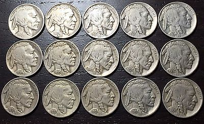 COLLECTOR LOT OF BUFFALO NICKELS  --  MAKE US AN OFFER!  #O2368