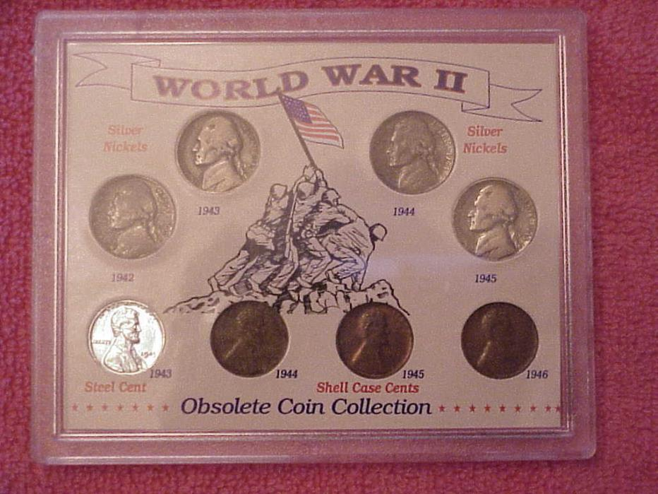 World War II Coins Set