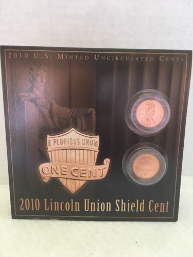 2010 Lincoln Union Shield Cent US Mint Uncirculated Coin collectible