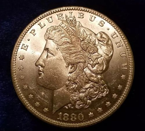 1880 s morgan silver dollar
