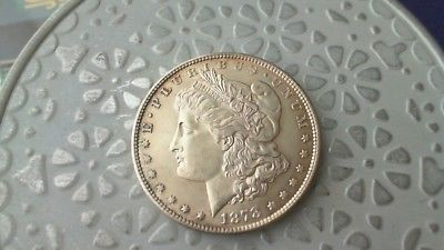 1878 S BU Morgan Silver Dollar