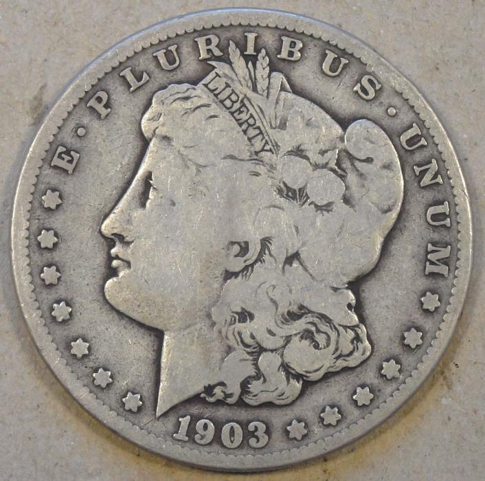 1903-S Morgan Dollar G-VG