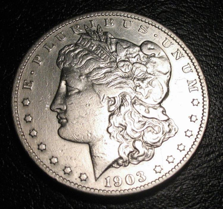 1903 S Morgan Silver Dollar key from the San Francisco mint