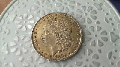 1881 O Morgan Silver Dollar