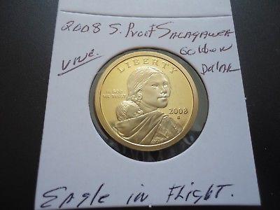 2008 S PROOF SACAGAWEA GOLDEN DOLLAR COIN