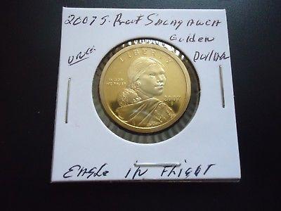 2007 S PROOF SACAGAWEA GOLDEN DOLLAR COIN