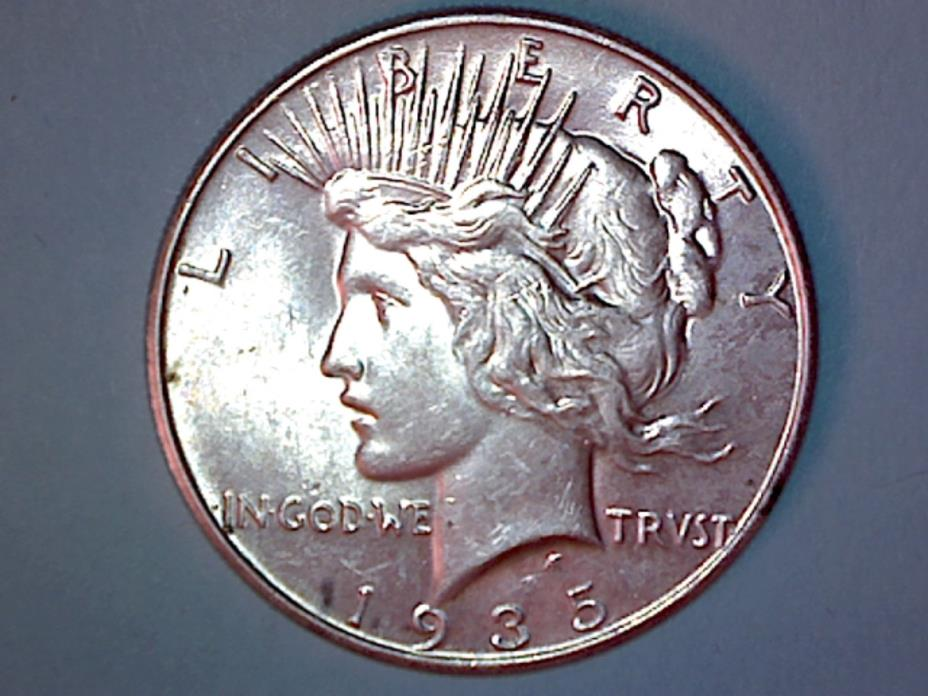 Peace Silver Dollar - 1935 - KM# 150