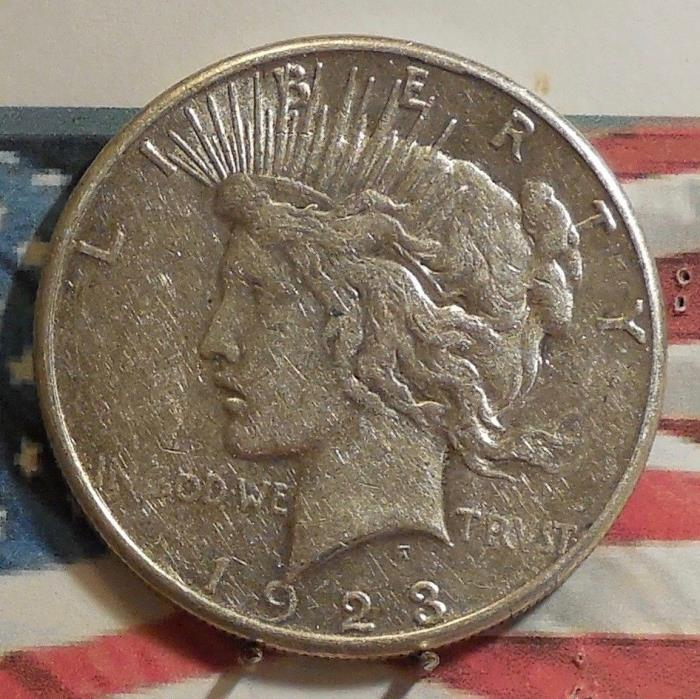 1923-S Peace Dollar Coin