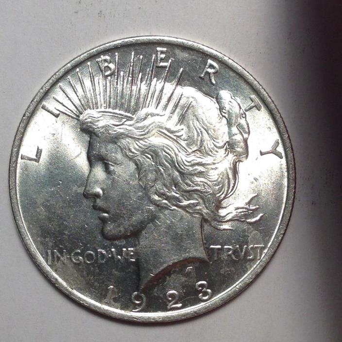 1923 PEACE SILVER DOLLAR. BOLD DETAILS. TAKE A LOOK!! [PD3-1]