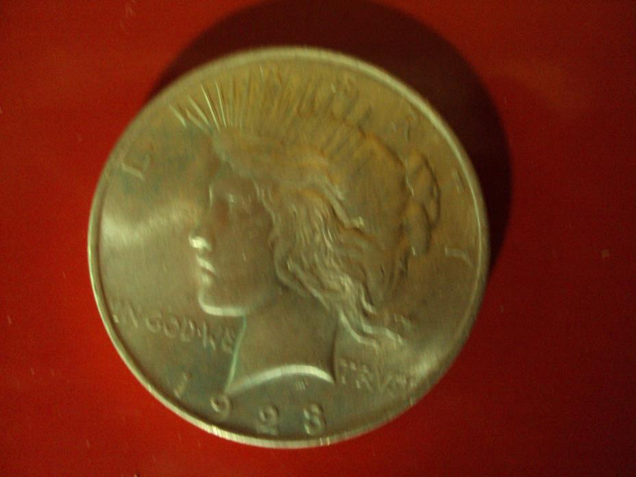 1923 Peace Silver Dollar Coin - Philadelphia Mint  Uncirculated